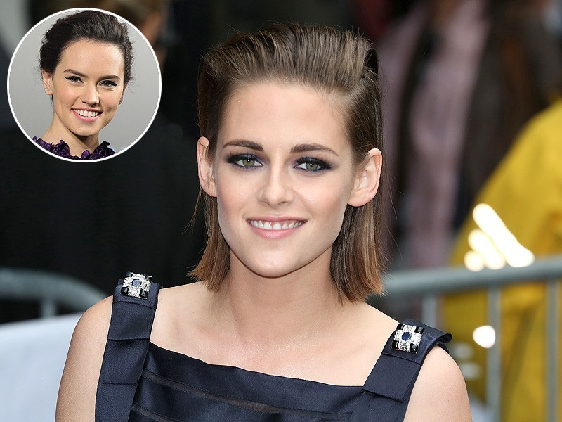 kristen stewart advises Star Wars daisey ridley on fame game 2015 gossip