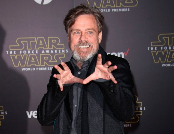 mark-hamill star wars premiere force awakens 2015
