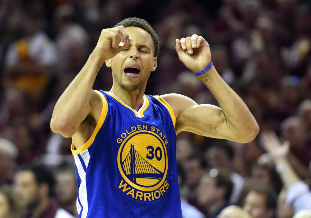 nba recap golden state warriors steph curry 2015 images
