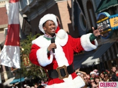 nick cannon sexy santa celebrity