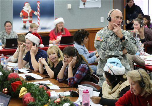 norad celebrates 60 years of tracking santa claus 2015 images