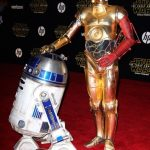 r2d2 star wars premiere force awakens 2015