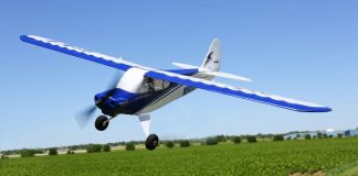 rc horizon hobby hobbyzone sport cub srtf plane 2015