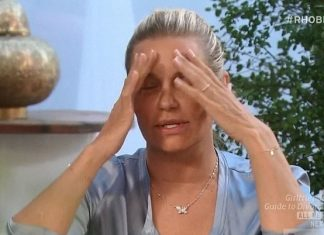 real housewives of beverly hills 505 yolanda foster practises will power with lisa rinna 2015 images
