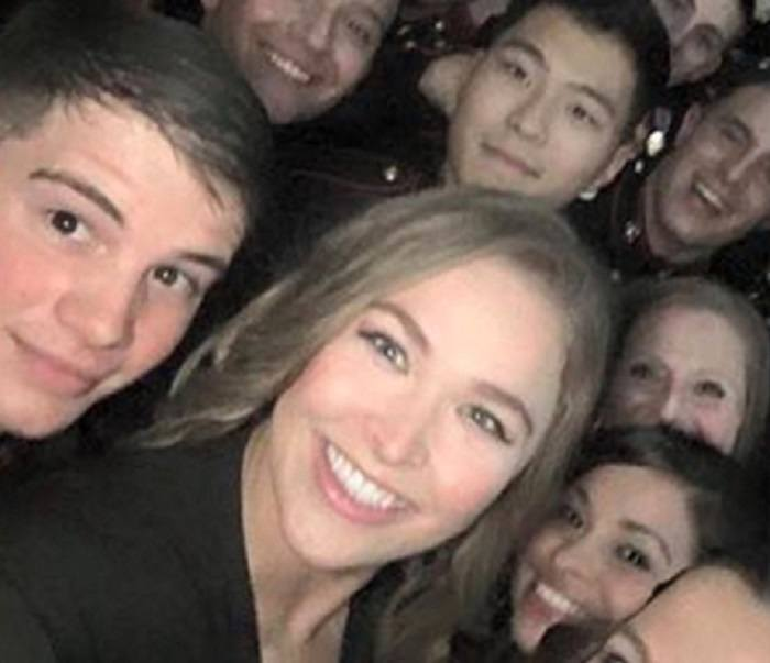 ronda rousey at marine corp ball 2015 gossip crop