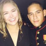 ronda rousey balls it up with marines 2015 gossip