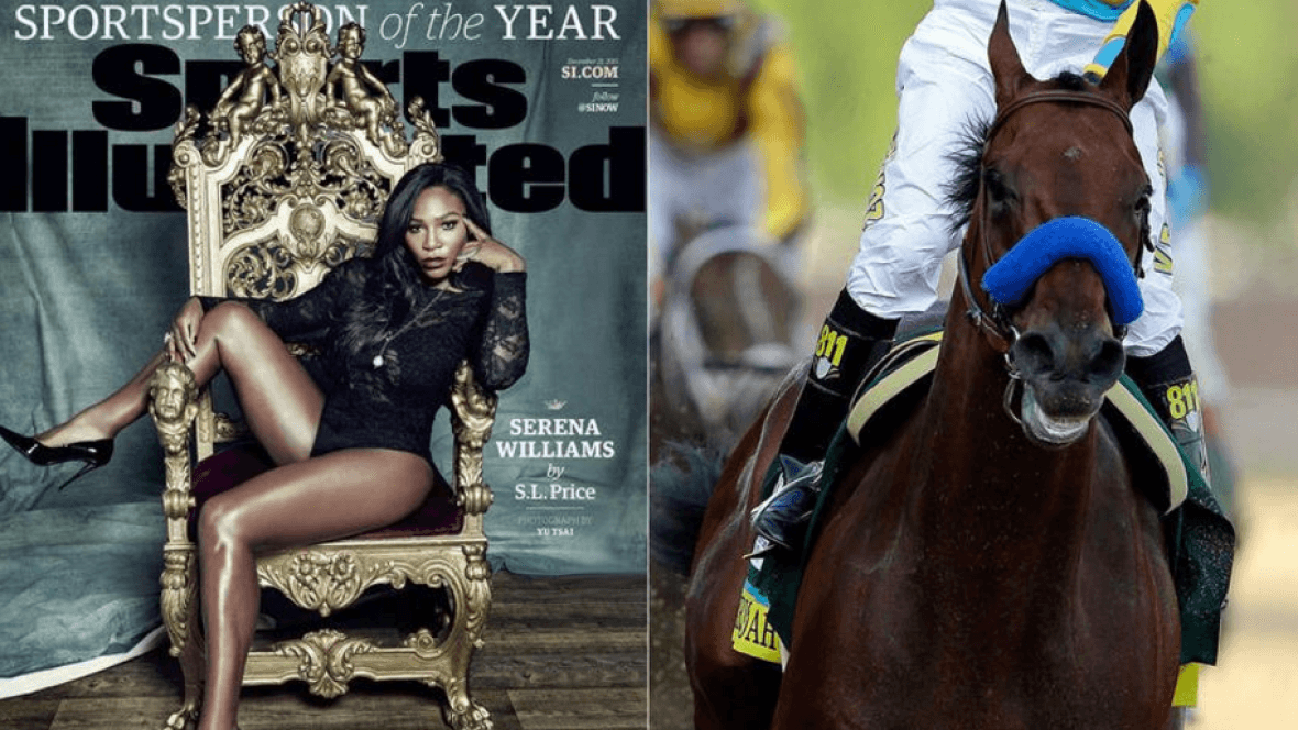 serena williams vs american pharoah another slap 2015 opinion