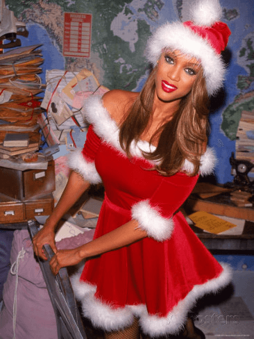 sexy female santas tyra banks 2015