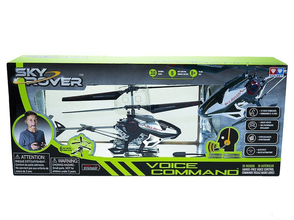 sky rover voice command heli vehicle with kid images 2015