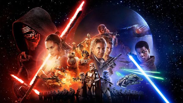 star wars the force awakens knocks out jurassic world 2015 images