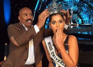 steve harvey crowns wrong miss universe 2015 gossip