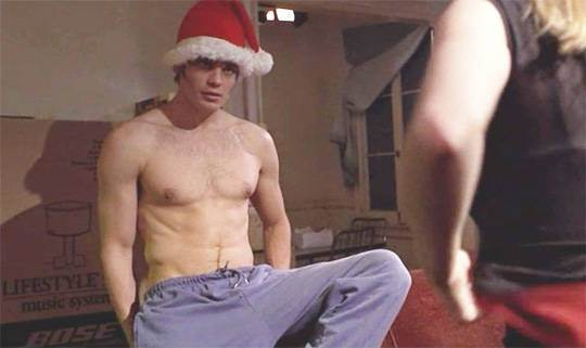 timothy olyphant sexy male celebrity santa 2015 images