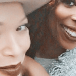 tisha campbell martin jumps with tasha smith 2015 gossip