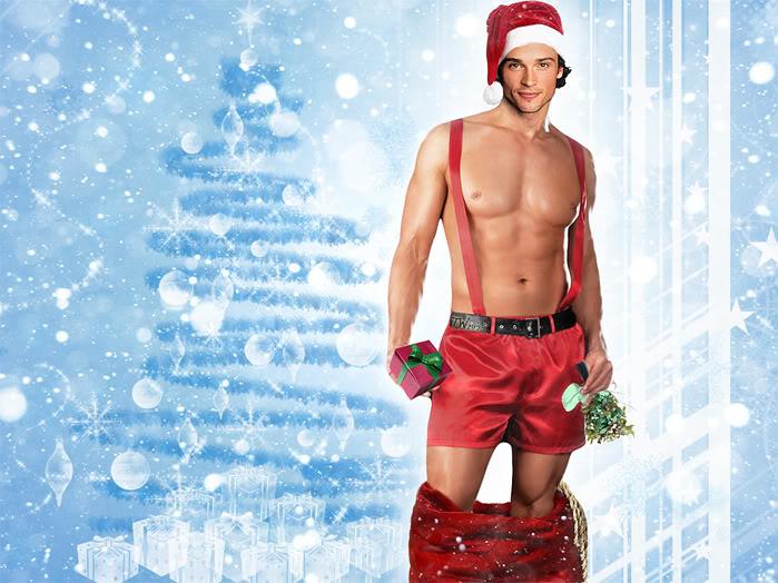 tom welling santa