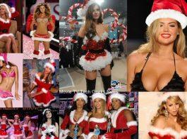 top 10 sexiest female celebrity santas 2015 holiday season images