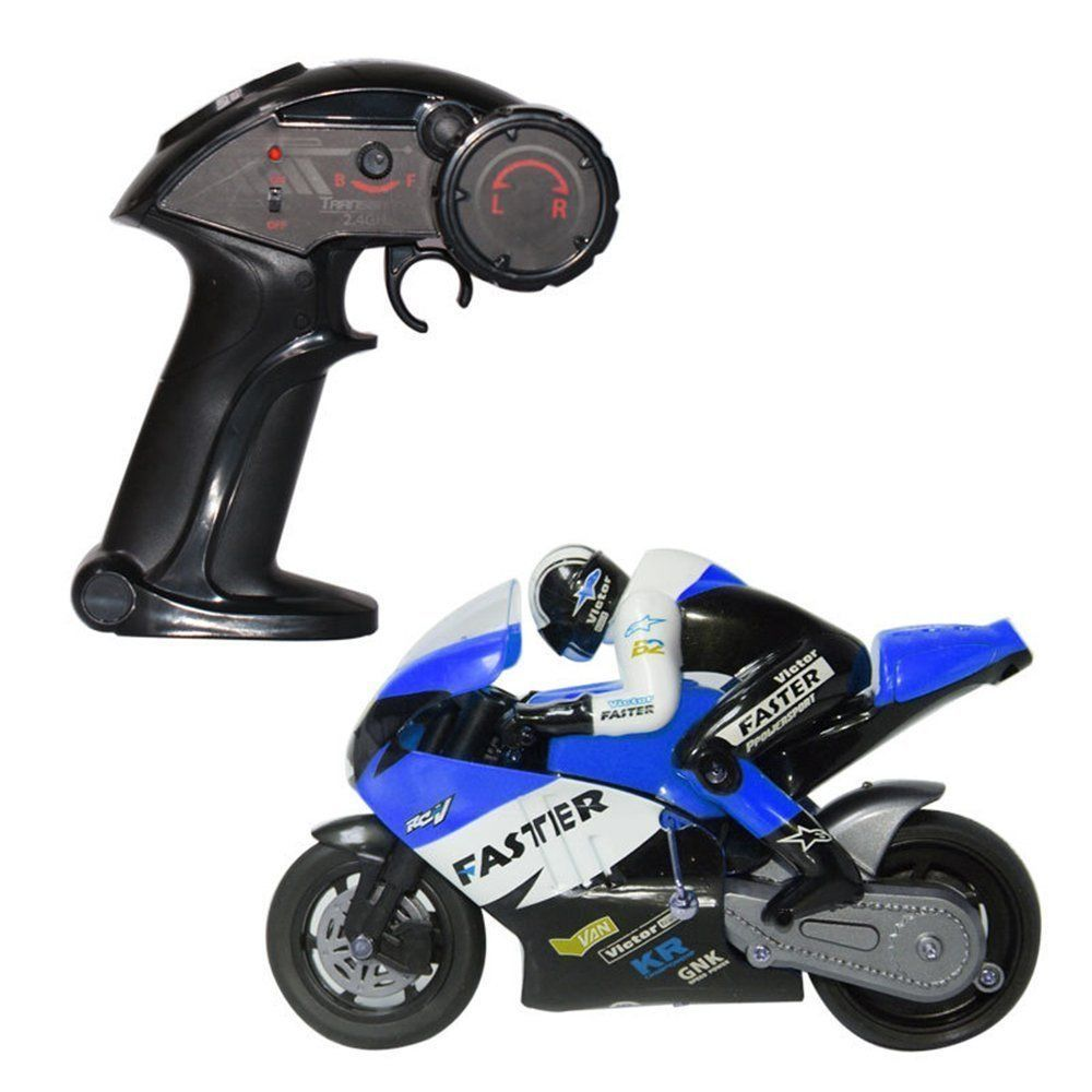 top race 4 channel remote control motorcycle blue 2015 images