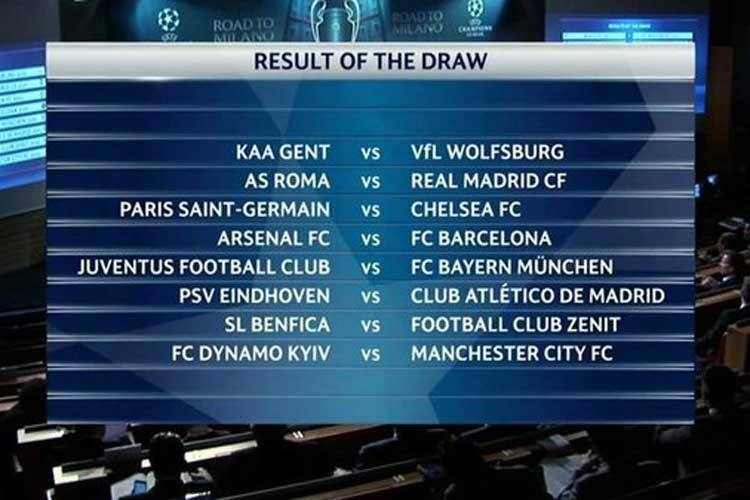 uefa champions league draw 2015 soccer images