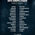 uefa europa league 32 draw 2015 soccer