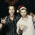 winchester brothers santa outfit
