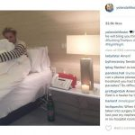 yolanda foster instagram pushing out from david foster 2015