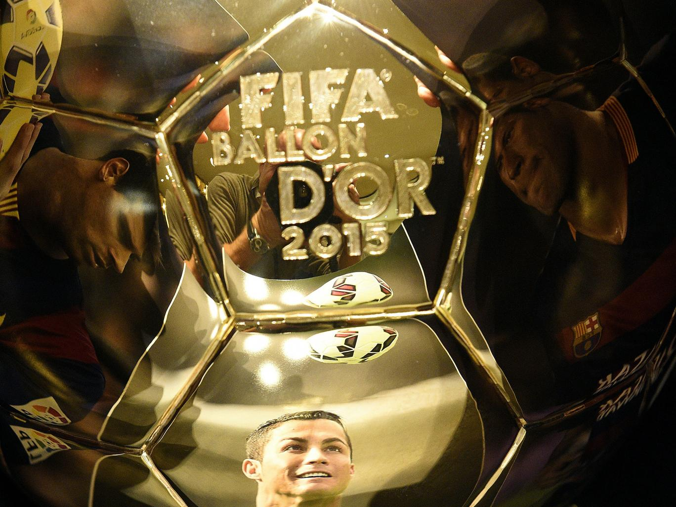 Ballon d'Or 2015 The winners 2016 images