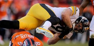 broncos vs steelers nfl divisional round playoofs 2016 images