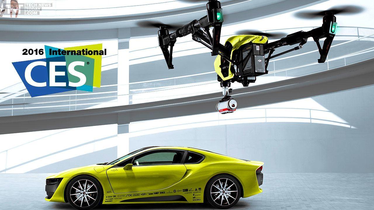 CES 2016 Virtual Reality Smart Bra, Robots & Drones tech images