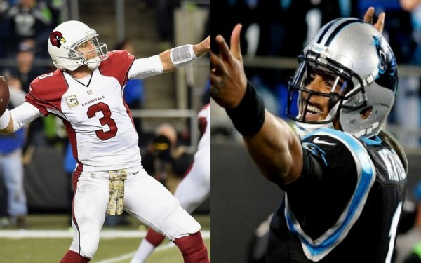 Cam Newton & Carson Palmer Leading NFL MVP Race 2016 images