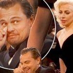 Leonardo DiCaprio's Golden Lady Gaga Moment Stirs Up Twitterverse