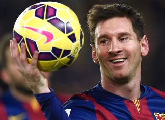 Lionel Messi wins 2015 Ballon d'Or 2016 soccer