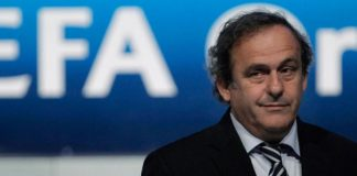 Michel Platini out of fifa presidential run 2016 soccer