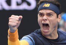 Milos Raonic Golden Opportunity 2016 Australian Open tennis images