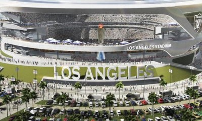 NFL Chargers Raiders and Rams submit official 2015 images