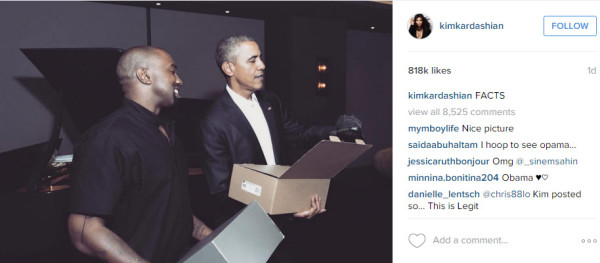barack obama gets yeezy with kanye west 2015 gossip