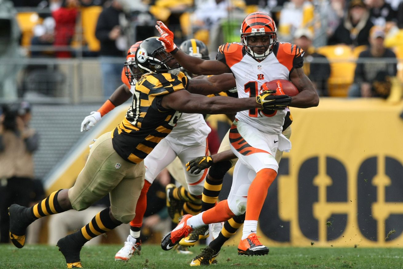 bengals collapse to steelers 2016 images
