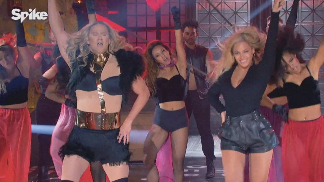 Channing Tatum Does Beyonce with Beyonce 2016 images