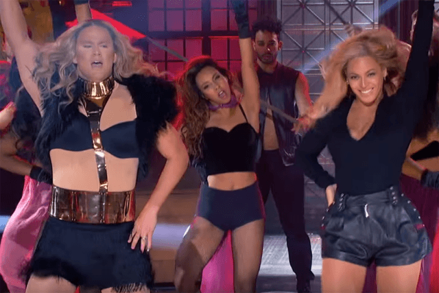 channing tatum performs with beyonce lip syn 2016 gossip