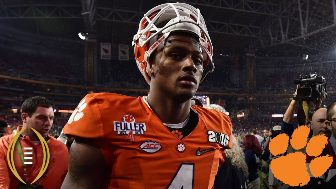 deshaun watson deserved the Heisman Trophy 2016 images