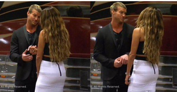 dolph ziggler with nikki bella john cena three triangle 2016