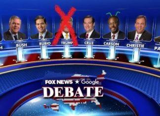 donald trump skipping out of seventh republican debate 2016