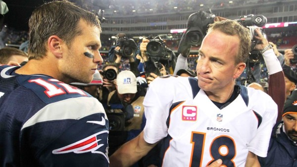 final tom brady vs peyton manning faceoff 2016 images