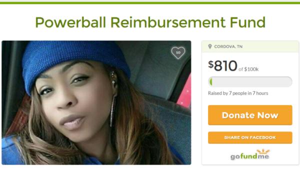 heroes zeros Cinnamon Nicole gofundme powerball campaign 2016 opinion
