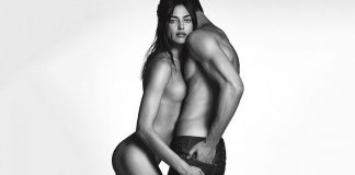 irina shayk bares down for givenchy 2016 gossip