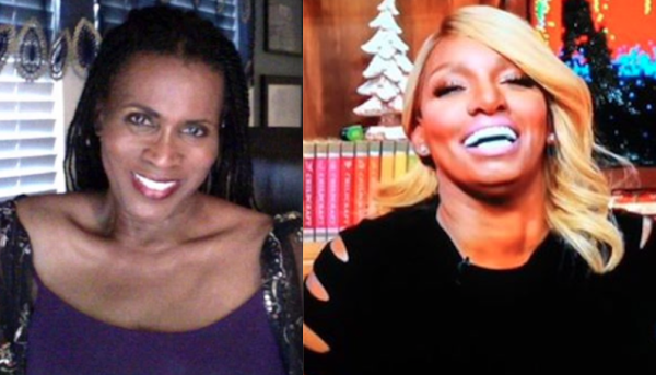 janet hubert gets ghetto on nene leakes 2016 gossip