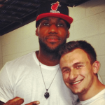 Johnny Manziel loses faith of LeBron James