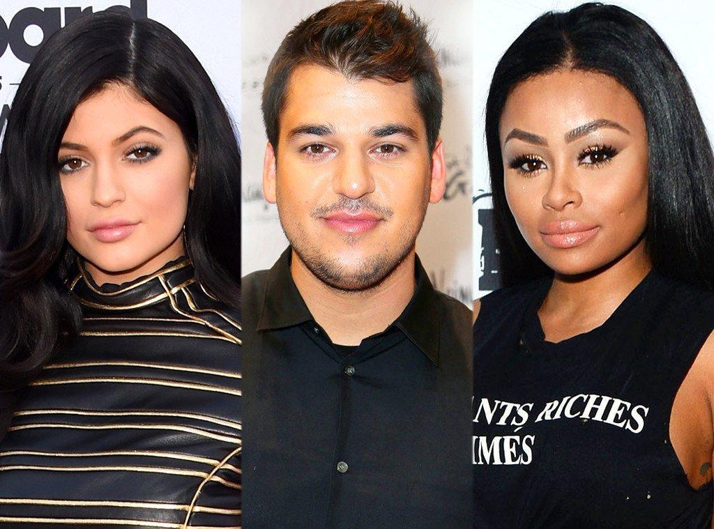 kylie jenner fury at rob kardashian chyna blac 2016 gossip