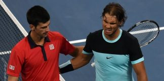 novak djokovic rafael nadal move to qatar open semifinals 2016 images