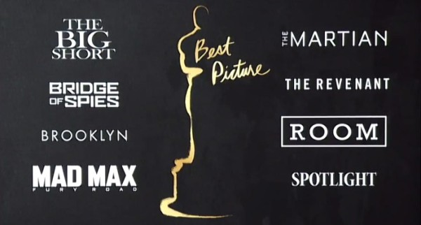 'The Revenant' & 'Mad Max Fury Road' Top 2016 Academy Award movie images