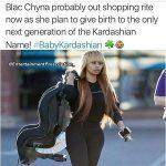 rob kardashian blac chyna baby seat rumor 2016 gossip