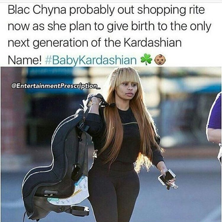 rob kardashian blac cyna baby mill starts 2016 gossip